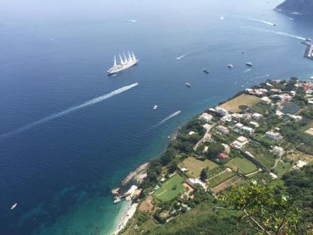 Capri, Italy, Amalfi Coast, Marina Grande, Europe, travel, ships.