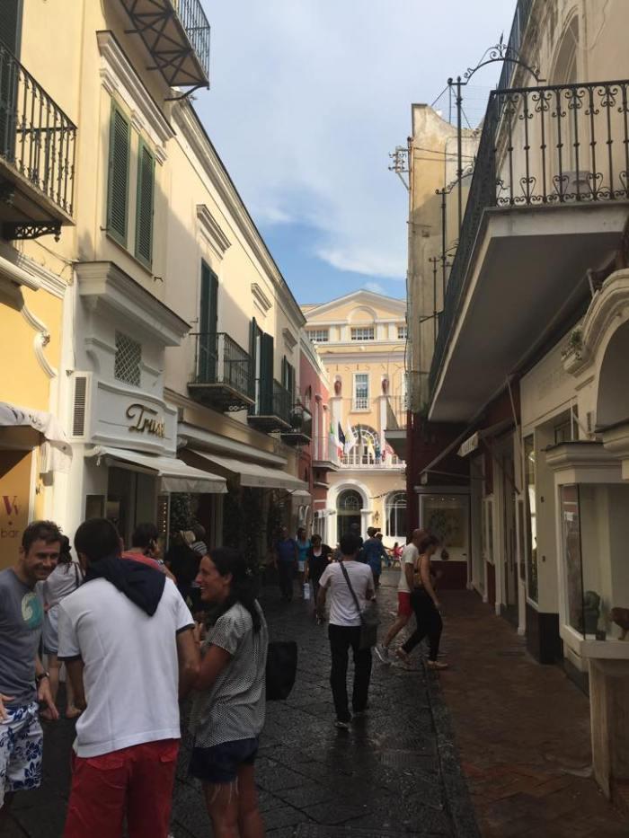 Capri, Italy, Amafli Coast, Europe, Travel, Piazza Umberto, shopping.
