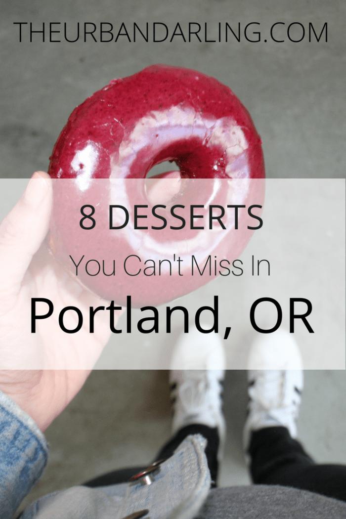 Salt & Straw, ice cream, Portland, Oregon, tourist, travel, desserts, sweets, treats, Salt & Straw, Voodoo Doughnuts, Wiz Bang Bar, Pip's Original Doughnuts, Saint Cupcake, Ruby Jewel Scoops