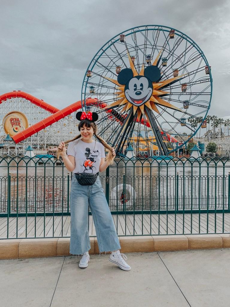 Disneyland, Disney California Adventure, California Adventure, California, Paradise Pier, Incredicoaster, Mickey's Fun Wheel, Instagram, Disneyland Instagram photo guide, photo guide, Disney, travel blogger, fashion blogger, travel, fashion