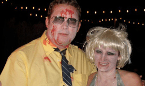 It was clear these zombies were meant to love each other