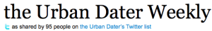 the Urban Dater Weekly