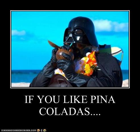 Who orders Pina Coladas at a bar called O'Malley's?