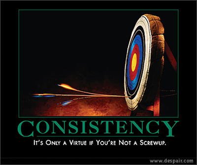 Consistency Counts: Keep it Pumpin'