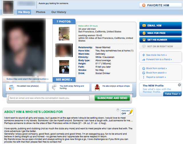 paras online dating intro email