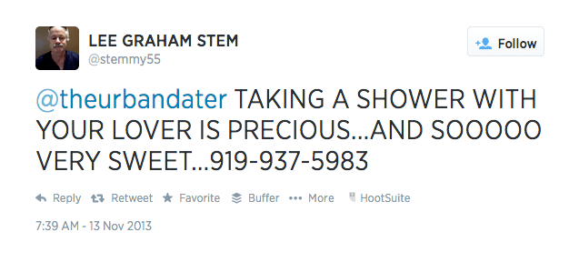 Stemmy's Romantic Tweets