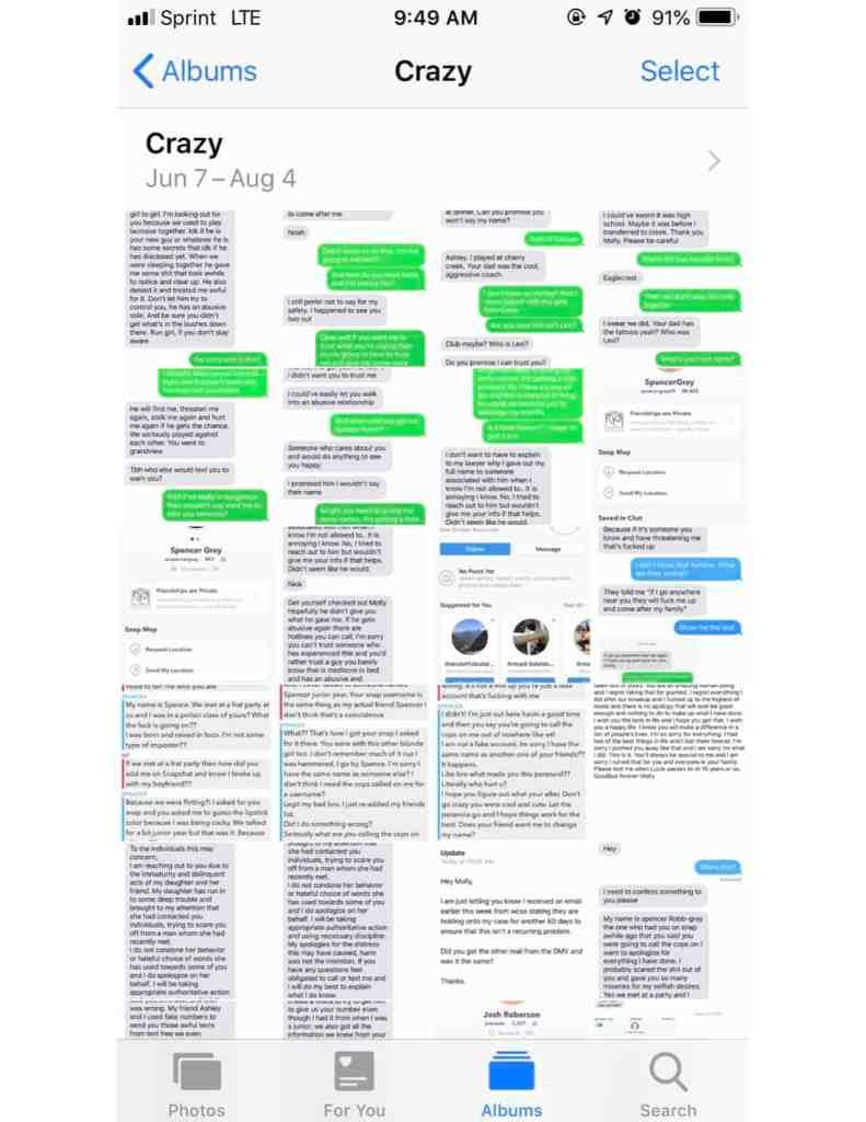 crazy texts