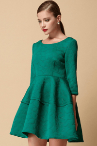 Jollychic green dress