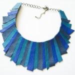 SASHaccessories_colier piele albastru