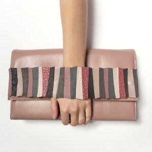 geanta roz prafuit my dream bag sashaccessories accesoriu detasabil Pink Grey AGS005