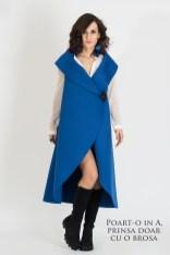 rochia GIYA albastra - style in A