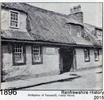 Tannahill's Birth Cottage
