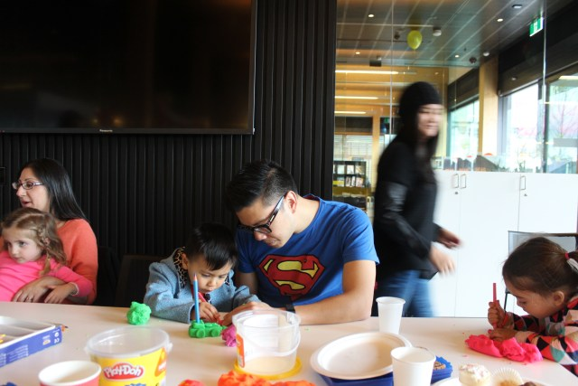 Docklands Library kids party function room