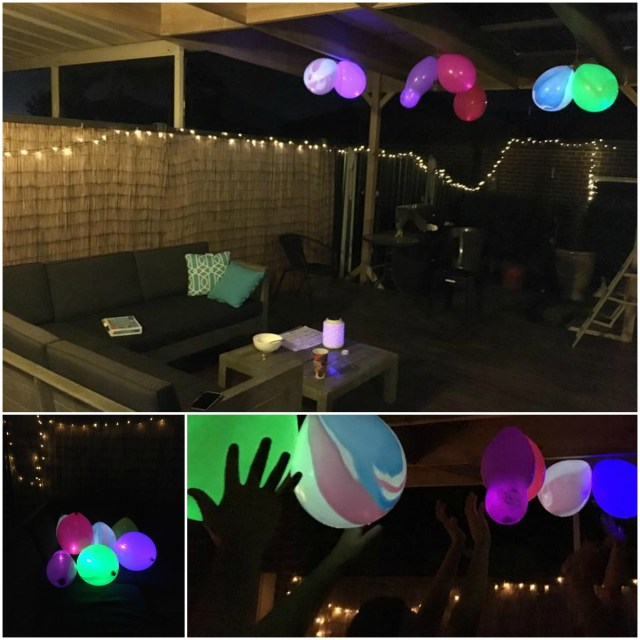 Backyard party Illooms balloons review