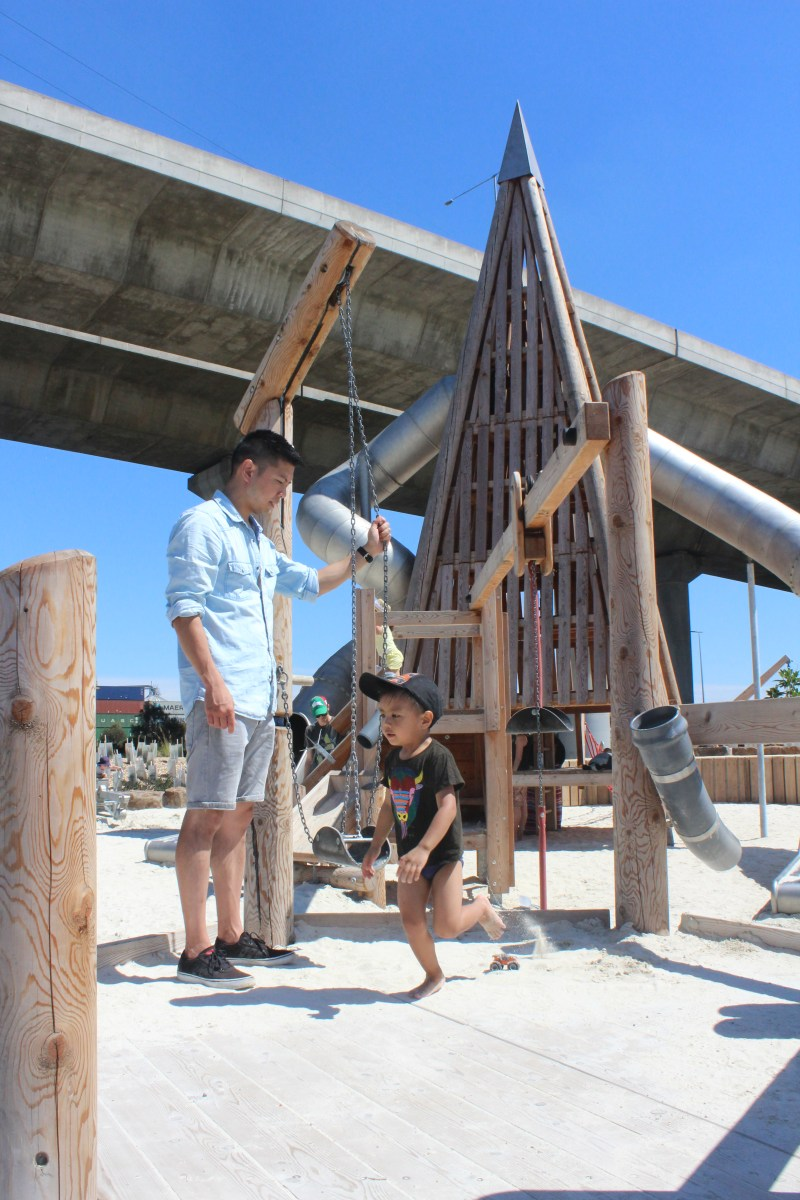 The Urban Ma Docklands playground