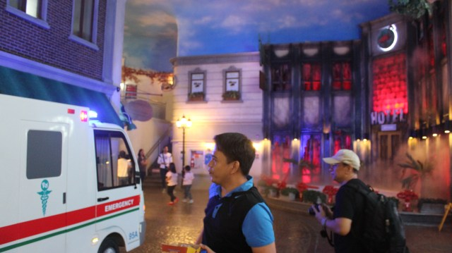 Kidzania Manila Philippines activities