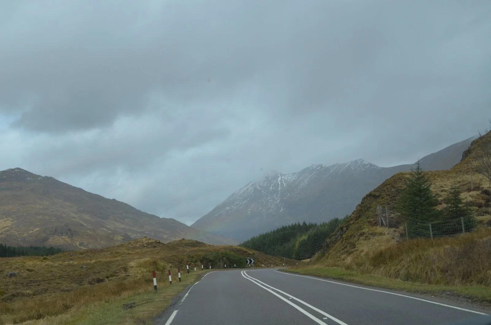 Scotland driving