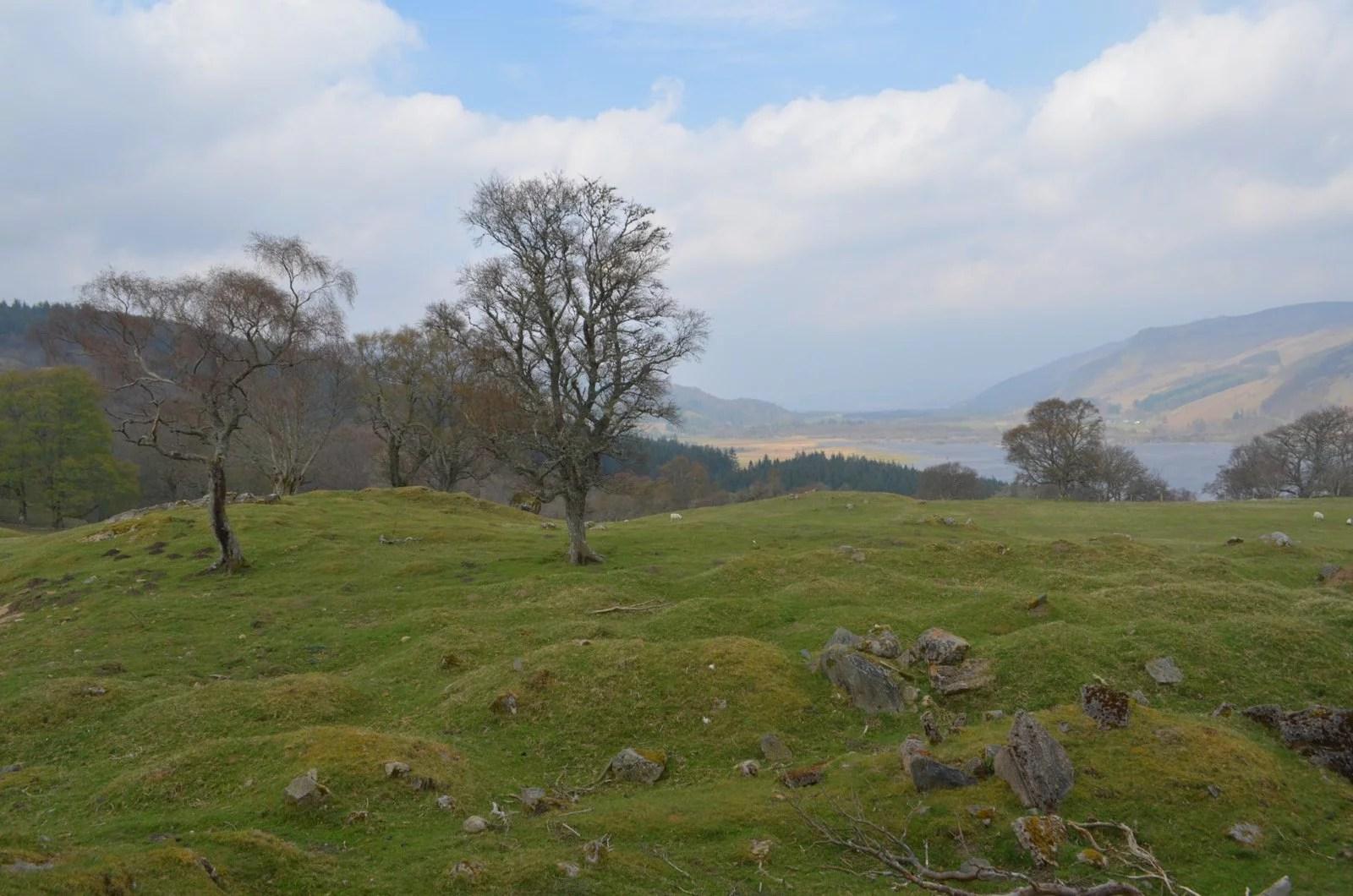 Fairy hill Highlands Scotland Outlander