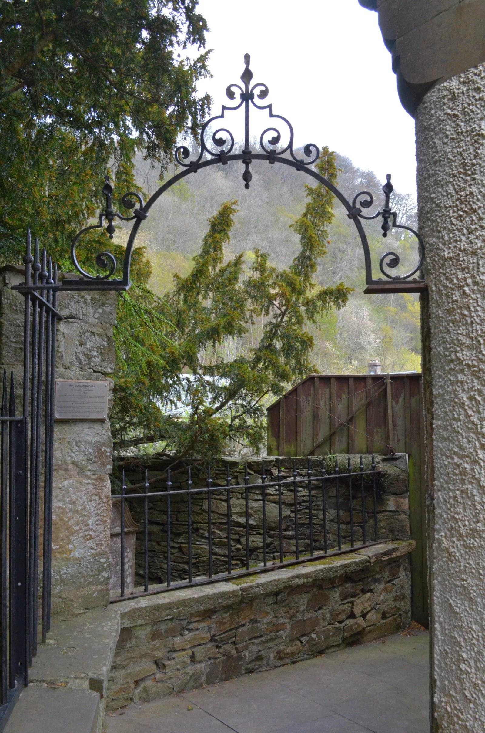 Fortingall Highlands Church Scotland