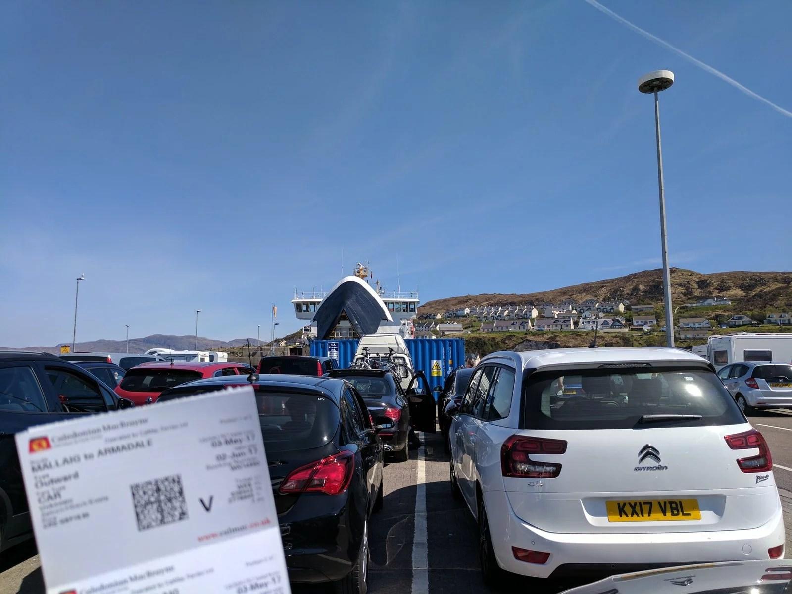 Mallaig, ferry, Isle of Skye