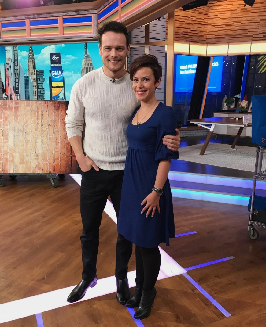 GMA Day Outlander Superfan Sam Heughan