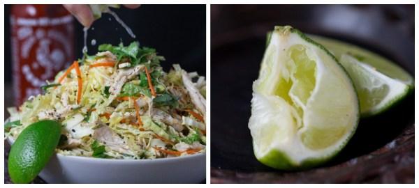 Vietnamese Style Chicken & Cabbage Salad