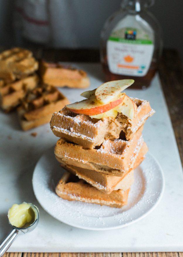 Apple Cider Waffles 2