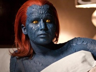 Oscar-winner Jennifer Lawrence as the shape-shifting mutant Mystique.