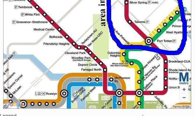 DC subway line