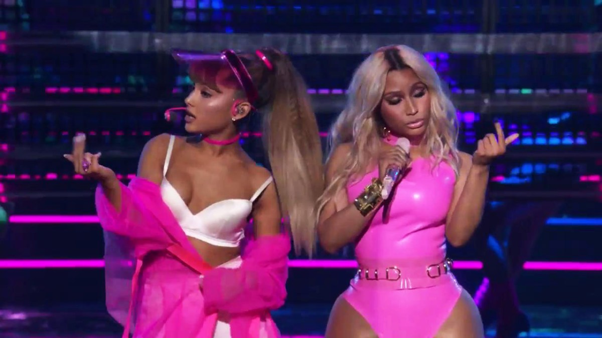 Nicki and Ariana