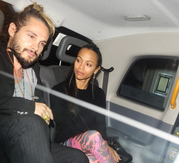 Actress Zoe Saldana married Italian artist Marco Perego in 2013. The two have twin boys.
