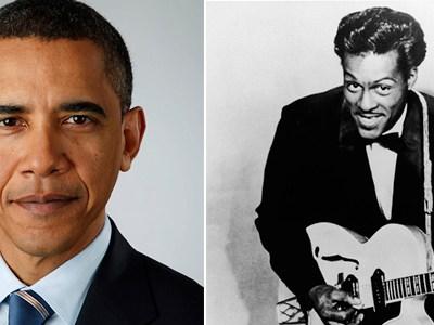 Barack Obama Chuck Berry