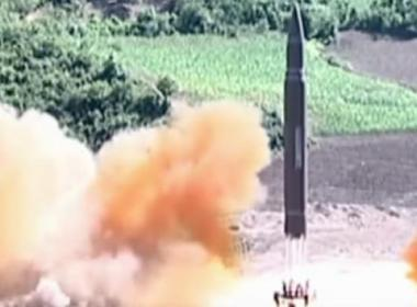 North Korea fires missle