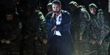 Kendrick Lamar performs mind blowing medley at the 2018 Grammys. Photo credit: CNN.com