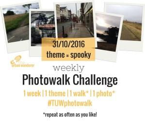 The Urban Wanderer Weekly Photowalk Challenge | #1 Spooky | Sarah Irving | The Urban Wanderer