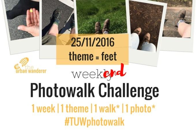 The Urban Wanderer Weekend Photowalk Challenge | #4 Feet