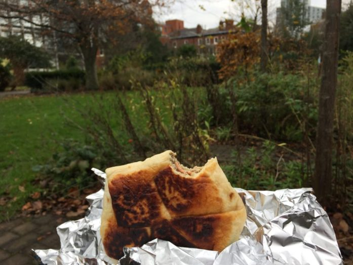 A city picnic at St John's Gardens, Manchester (Plus 30 minute park video!) | #30minparksmcr | The Urban Wanderer | Parks in Manchester | Sarah Irving | #Getoutside | Manchester Outdoor Blogger