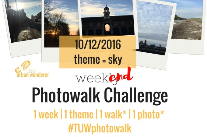 The Urban Wanderer Weekend Photowalk Challenge | #6 Sky