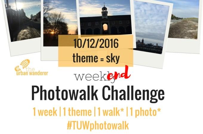 The Urban Wanderer Weekend Photowalk Challenge | #6 Sky