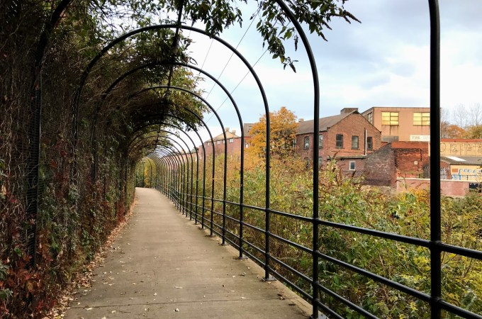 Discovering Sheffield from new angles | Cobweb Bridges, Flowers, Weirs and more