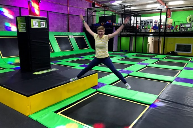 Buckt | Jumping into the week at Jump Ninja