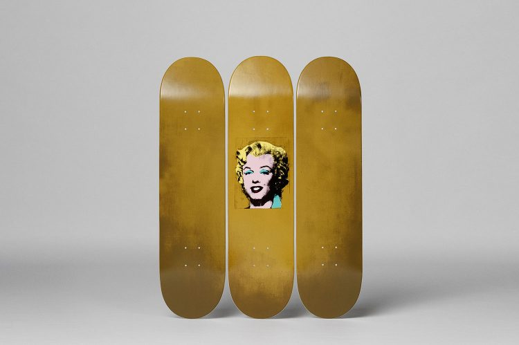 Andy Warhol's Gold Marilyn $2,000