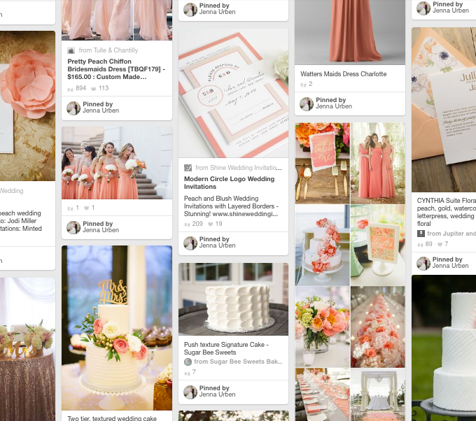 How To Use Pinterest While Planning Your Wedding