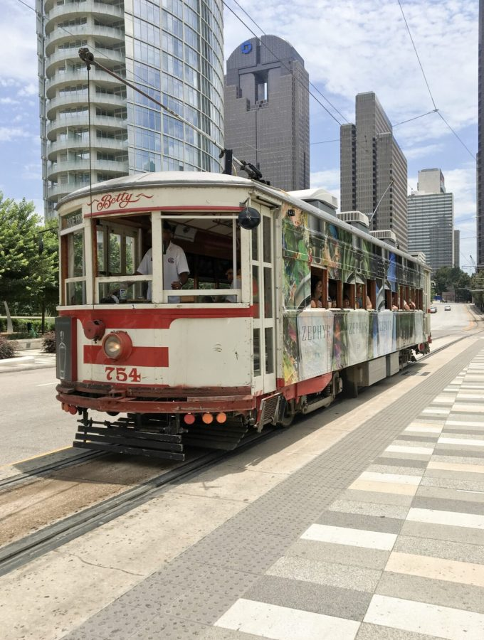 Uptown Dallas Trolley