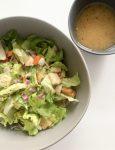 Salad with Apple Cider Vinegarette