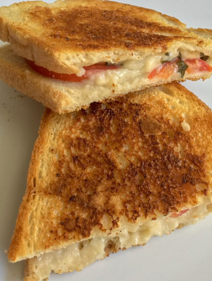 Easy Dairy Free Grilled Cheese Sandwich
