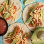 Dairy Free Soft Shell Tacos