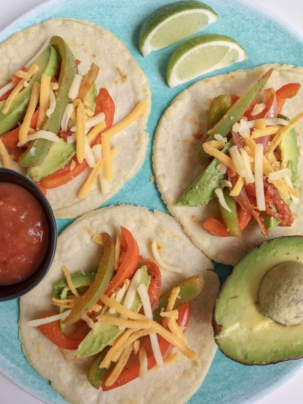 Dairy Free Soft Shell Tacos
