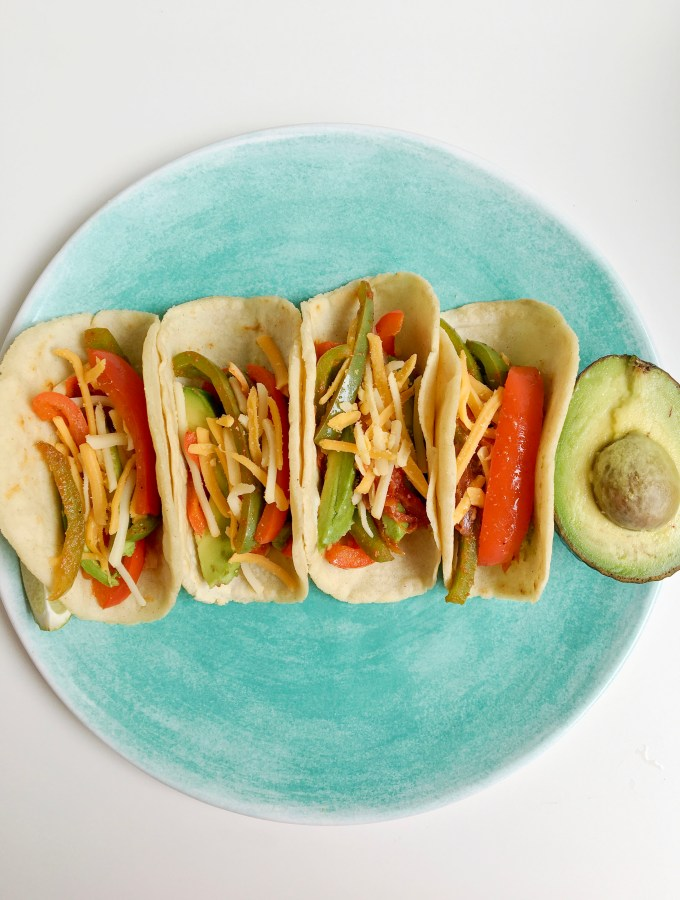 Soft Shell Veggie Tacos with GO VEGGIE