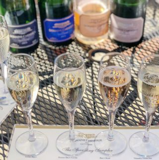 Domaine Carneros Sparkling Wine Tasting Flight